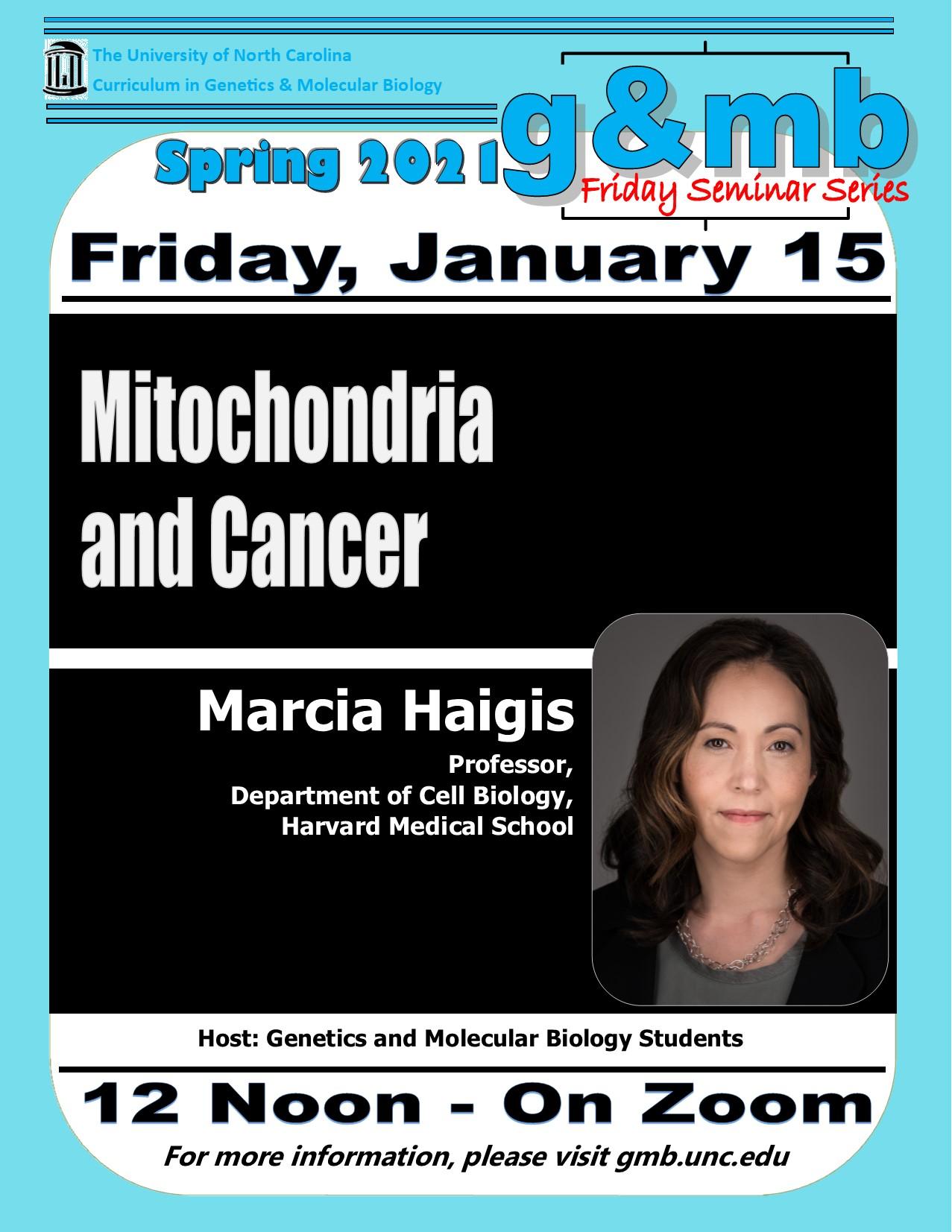 GMB Seminars 20 0115_Marcia Haigis