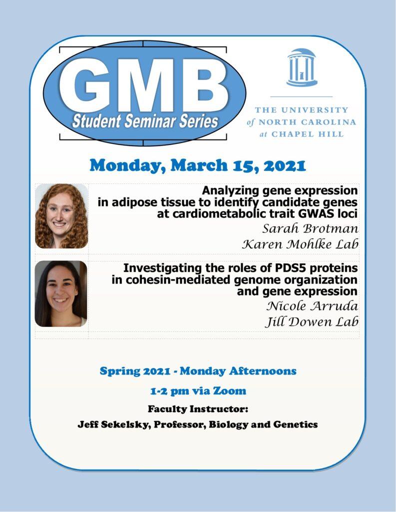 GMB Student Seminars_21 0315