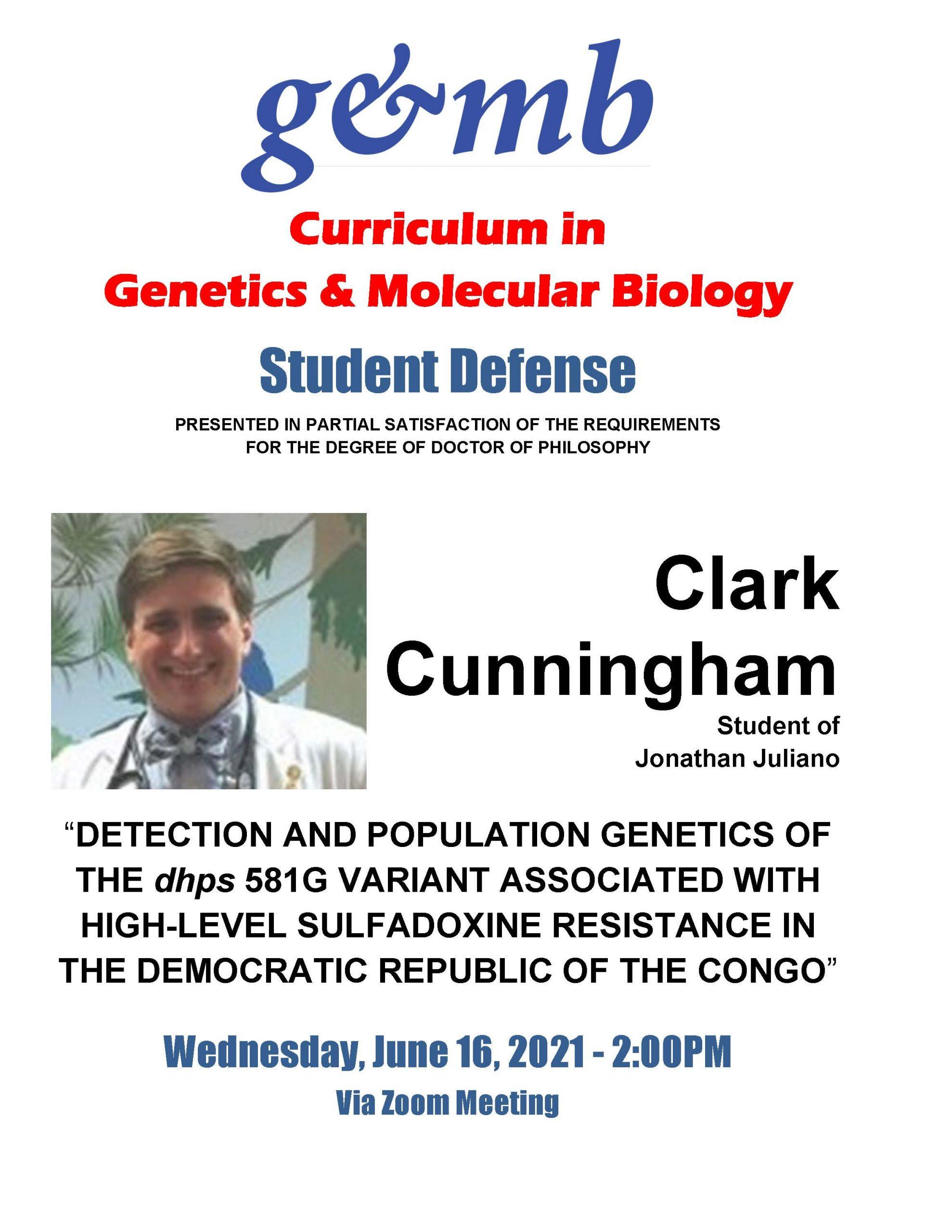 Clark Cunningham Defense